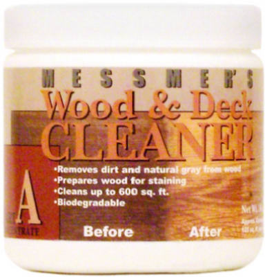 Messmer's WDA-1 Part 'A' Wood Cleaner, 16 Oz