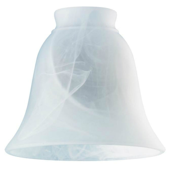 "Westinghouse 8127200 Milky Scavo Design Glass Shade, 4-3/4"", 2-1/4"" Fitter"