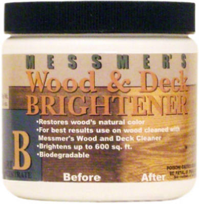 Messmer's WDB-1 Part 'B' Wood Brightener, 16 Oz