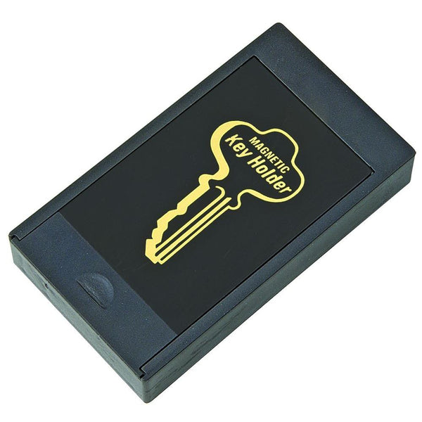 Hy-Ko KC164 Secret Hide-A-Key Magnetic Key Holder, Black, Large
