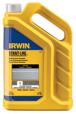 Irwin Tools 65102 Strait-Line® Permanent Marking Chalk, 5 lbs, Red