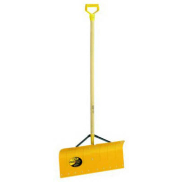 "Yo-Ho® 03070 Heavy Duty Aluminum Braced Snow Pusher, 12"" x 24"" Blade"