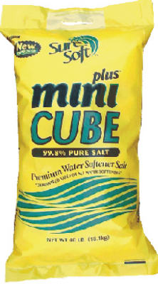 Sure Soft 32040 Mini Cube Plus Water Conditioning Salt Cubes, 40 Lb