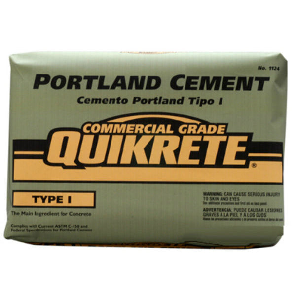 Quikrete® 112494 Commercial Grade Portland Cement, Type-1, 94 Lbs