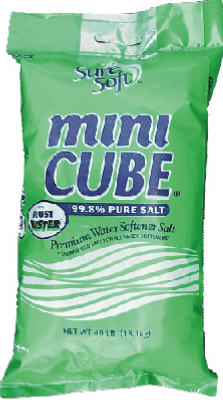 Sure Soft Mini Cube Water Conditioning Salt with Rust Buster, 40 Lb