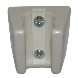 Lasco 08-2411 3-PositionWall Mount Shower Bracket, White