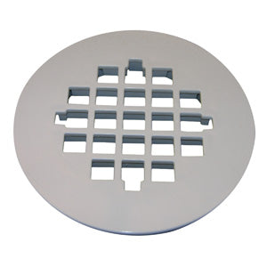 Lasco 03-1257 Casper Snap-In Shower Drain Strainer, Plastic