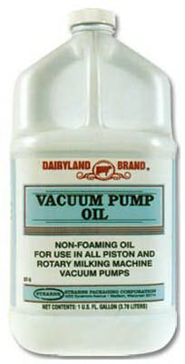 Dairyland Vacuum Pump Oil, 1 Gallon