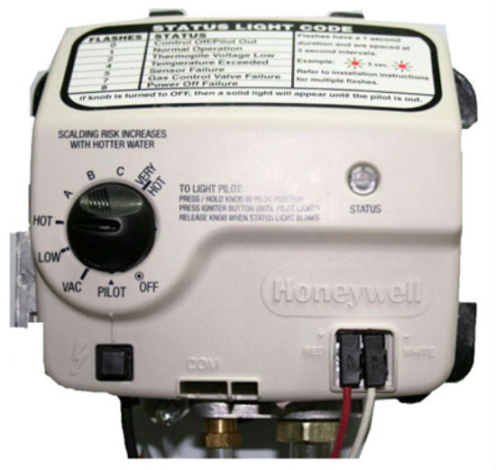 Honeywell 9007884 Electronic Gas Control Valve, 300 Series