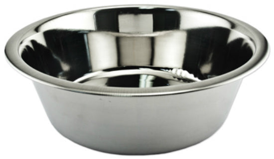 Ruffin' It 15060 Stainless Steel Pet Bowl, 5 Qt
