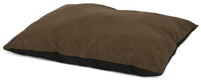 "Petmate 26893 Pet Pillow Bed, 27"" x 36"", Tobacco Brown"