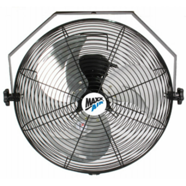 MaxxAir™ HVWM18 High Velocity Wall Mount Fan with 3-Speed Pull Chain, 18""