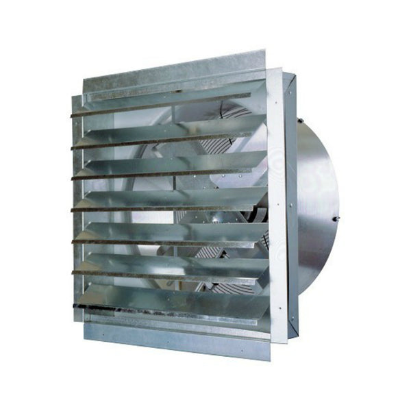 "MaxxAir™ IF24 Heavy- Duty Industrial Barn Exhaust Fan, 24"", 120V, 4.35 Amps"