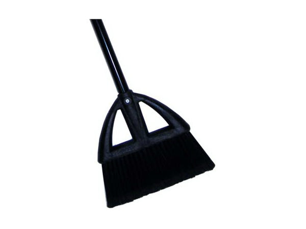 Quickie® 734 Poly Lobby Broom with Steel Handle, 31""