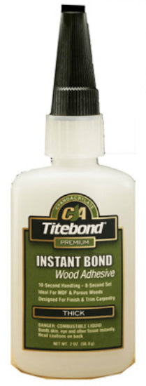 Titebond 6221 Instant Bond Thick Wood Adhesive, 2 Oz