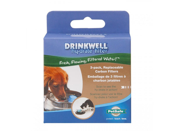PetSafe® PFD17-12905 Drinkwell® Hy-Drate™ Replacement Filters, 3-Pack