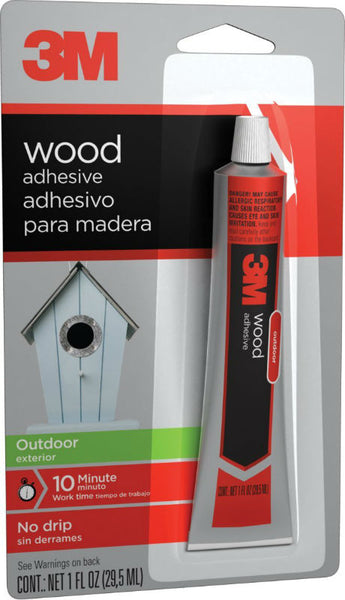 3M 18021 Outdoor Wood Adhesive, 1 Oz