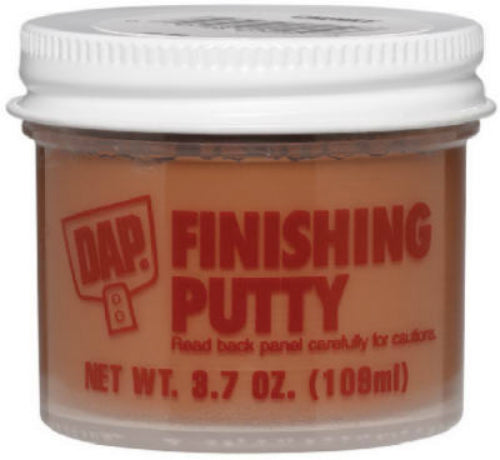 Dap® 21255 Plastic Wood® Smooth Finishing Putty, 3.7 Oz, Dark Walnut