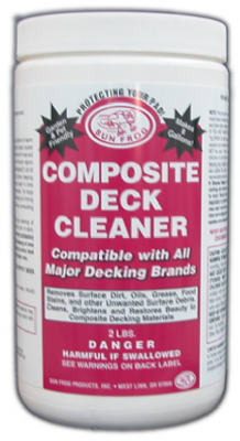 Sun Frog CCQT Composite Deck Cleaner, 1 Qt