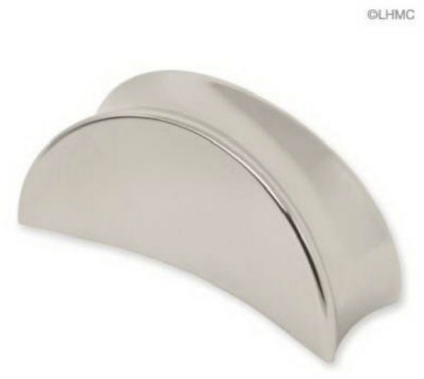 "Liberty P07019C-PN-C Gio Collection Knob, 1-1/8"", Polished Nickel"