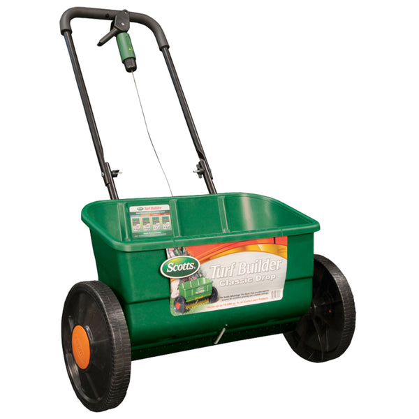 Scotts® 76565 Turf Builder® Classic Drop Spreader, 10000 Sq Ft Coverage