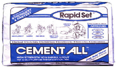 Rapid Set 1015 Cement All Bag, 55 lb