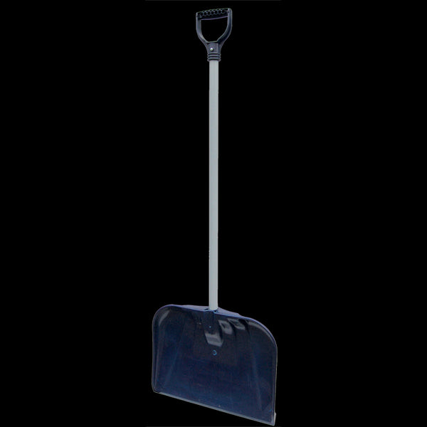 Rugg® 30P-S Traditional PathMaster Select Poly Snow Shovel, Steel Handle, 18""