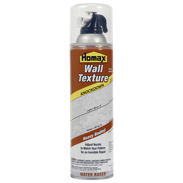 Homax® 4065-06 Knockdown Aerosol Wall Texture, Water-Based, 20 Oz