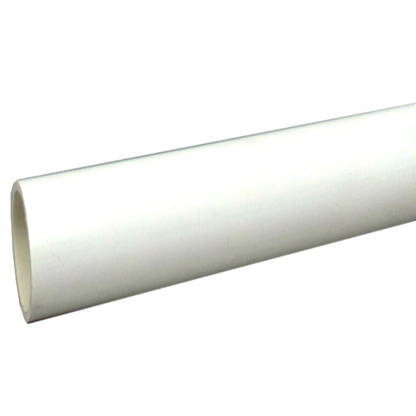 "Charlotte Pipe® PVC040100600 Schedule 40 PVC Pipe, Plain End, 450 PSI, 1"" x 10'"