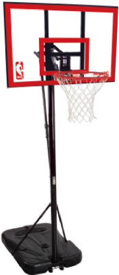 Spalding 72351 Poly Carbonate SFA Rectangular Backboard, 44""