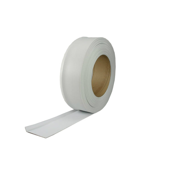 "M-D® Building 75929 Dry Back Vinyl Cove Wall Base Roll, 2-1/2"" x 120', White"