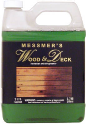 Messmer's WDL-1 Wood & Deck Re-Newer & Brightener, 1-Gallon