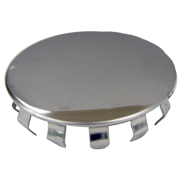 "Lasco 03-1453 Snap In Hole Cover, 1.5"", Stainless Steel"