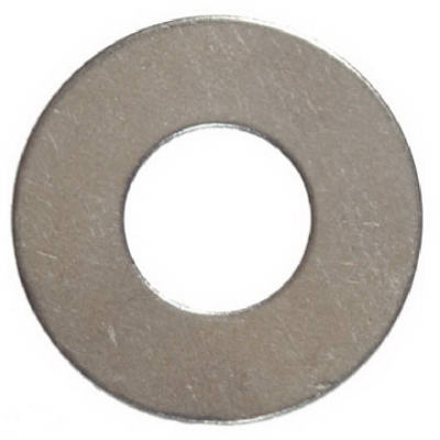 "Hillman Fasteners 270003 Steel Wide Pattern Flat Washer, 3/8"", 100 Pack"