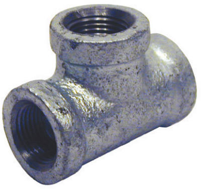 PanNext G-TEE02 Galvanized Equal Tee, 1/4""