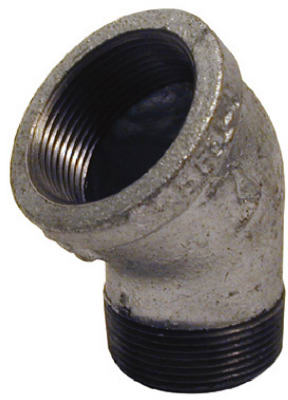 PanNext G-S4505 Galvanized Street Elbow, 1/2""