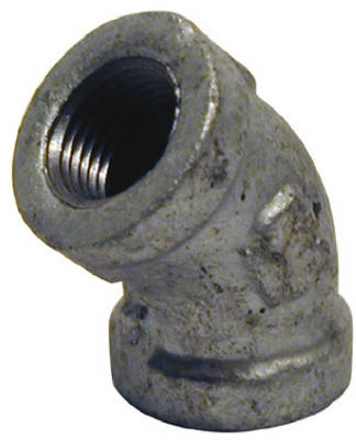 PanNext G-L4502 Galvanized Equal Elbow, 1/4""