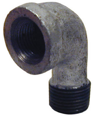 PanNext G-S9005 Galvanized Street Elbow, 1/2""