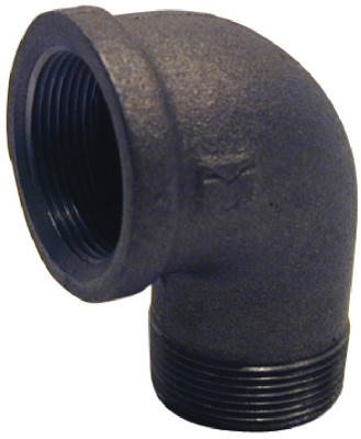 PanNext B-S9020 Black Street Elbow, 2""