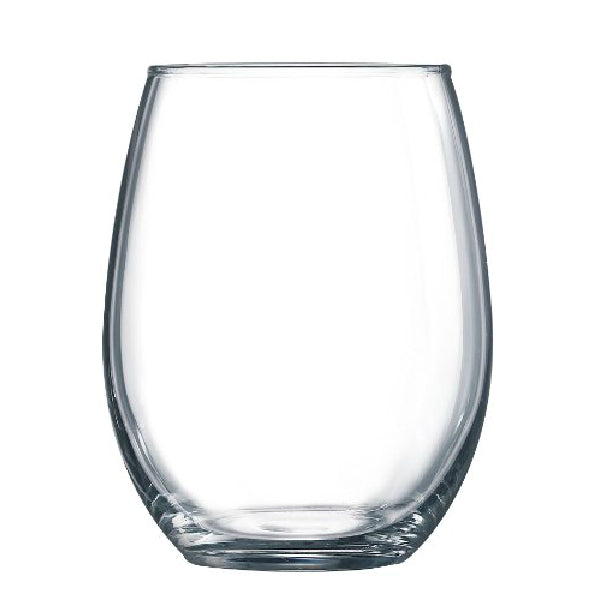 Arc International G9957 Perfection Stemless Wine Glass, 15 Oz