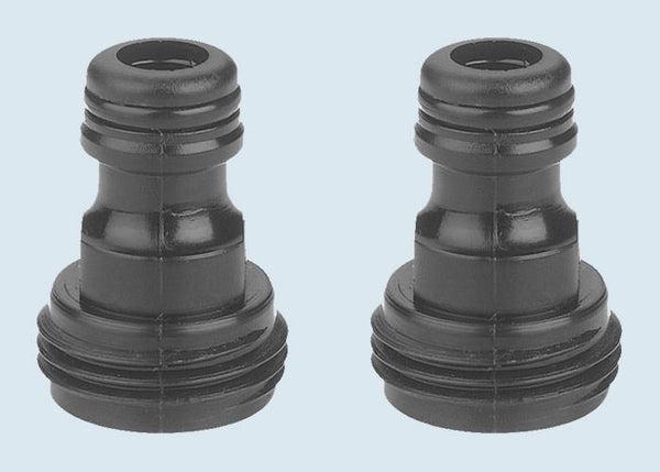 Gilmour 29QM Male Hose End Quick Connector, 2-Pack