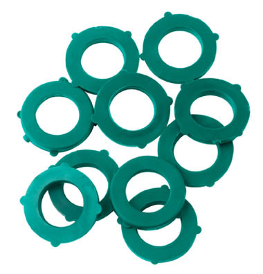 Gilmour 01CWBAG Vinyl Hose Washer, 10-Pack