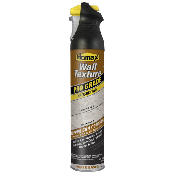 Homax® 4565 Pro Grade Knockdown Wall Texture, Water Based, 25 Oz
