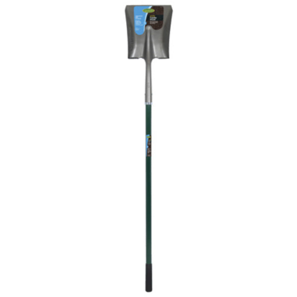 Green Thumb 163119200 Long Handle Square Point Shovel with Fiberglass Handle