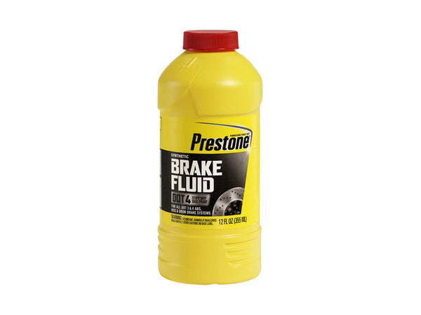 Prestone® Products AS800Y DOT 4 Synthetic Brake Fluid, 12 Oz