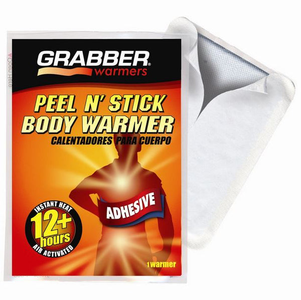 Grabber® AWES Peel N' Stick Adhesive Body Warmer, 12+ Hour