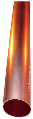 "Cerrowire 01560 Commercial Hard Copper Tube 1/2"" x 2', Type L"