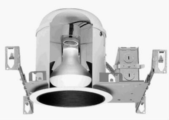 Halo® H7T New Construction Recessed Housing, 6""