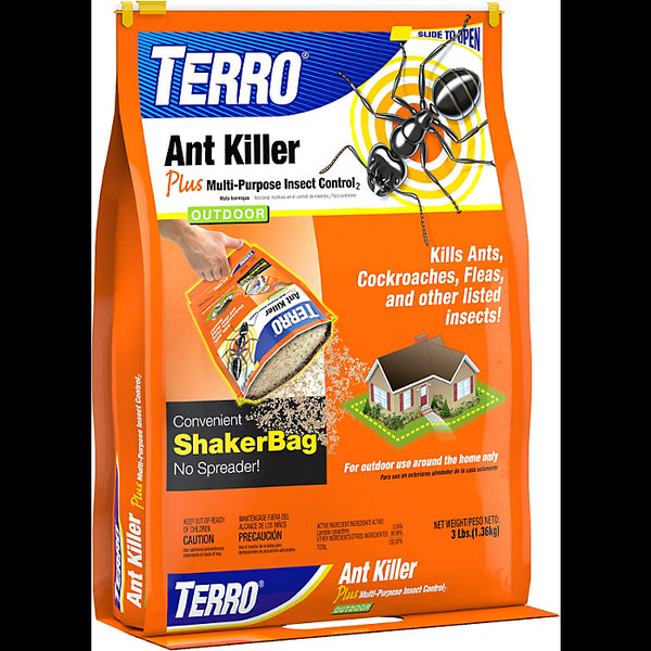 Terro® T901-6 Outdoor Ant Killer Plus with Multi-Purpose Insect Control, 3 Lbs