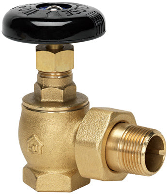 "Homewerks VRDAGSN5B Radiator Steam Valve 1"", Bronze"
